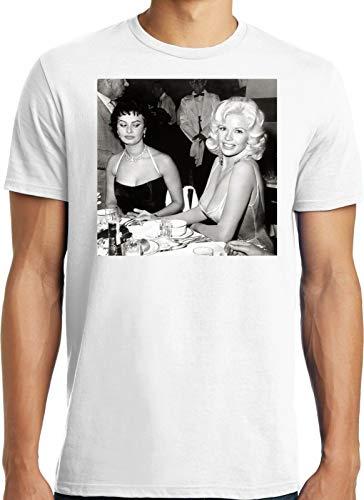 NR Big Guys Rule Big and Tall Funny Sophia Loren Jayne Mansfield Boobs T Shirt