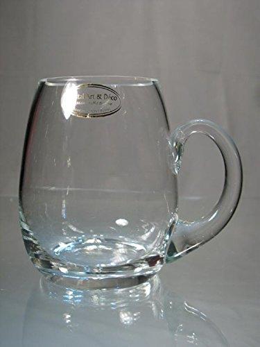 Cristal De Boemia - Boccale da birra in cristallo ecologico, 50 cl