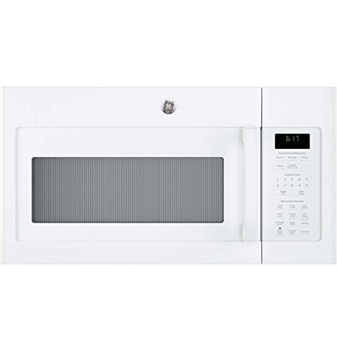 GE JVM6172DKWW Over-the- Over-the-Range Microwave, 1.7, White
