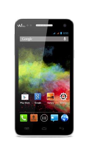 Wiko Rainbow Smartphone (12,7 cm (5 Zoll) Display, 4 GB interner Speicher, Android 4.2.2) weiß