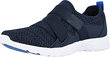 Vionic Women s Brisk Aimmy Adjustable Straps Leisure Shoes- Supportive Walking Sneakers That Include Three-Zone Comfort with Orthotic Insole Arch Support Sneakers for Women Navy 6 Medium US