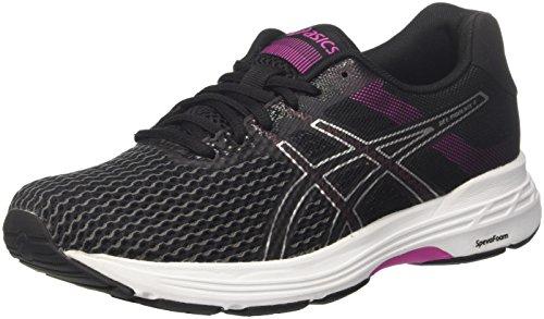 Asics Gel-Phoenix 9, Zapatillas de Running Mujer, Multicolor (Black/Silver/Fuchsia Red 9093), 37 EU