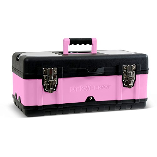 Pink Travel Sized Tool Box, Pink Craft Box