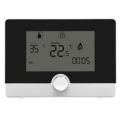 FTVOGUE - Termostato digital de pared programable para sistema de calefacción con caldera