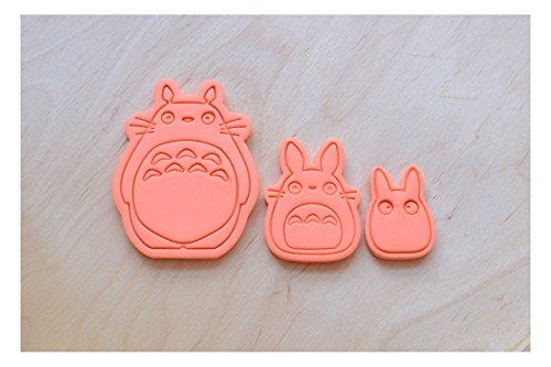 Totoro Cookie Cutter Set 3 Pcs.