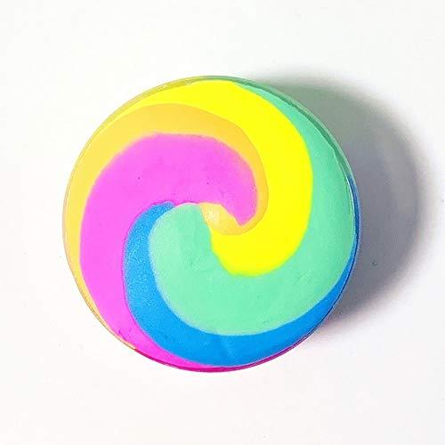 XKMY Arcilla suave para manualidades de 100 ml de arco iris, esponjoso,...