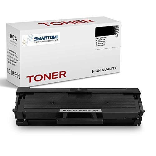 SMARTOMI 1PK MLT-D111S Compatible Black Toner Cartridge Samsung MLTD111S for used with Samsung Xpress SL- M2026 M2020 M2070 M2022 M2071 Series Printers