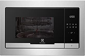 Electrolux EMT25207OX Integrado 25L 900W Acero inoxidable - Microondas (Integrado, 25 L, 900 W, Tocar, Acero inoxidable, 1000 W)