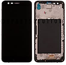 LCD Display Touch Screen Digitizer Front + Frame Assembly Black Replacement Part for LG K20 Plus TP260 MP260