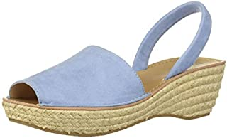 Kenneth Cole REACTION Women's Fine Glass Espadrille Slingback Wedge Sandal