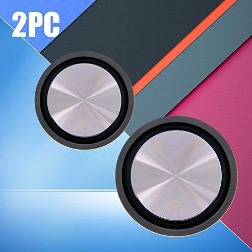 SUNERLORY Speaker Diafragma 2 stks 62mm Membraan Home Theater Radiator Vibratie Geluid Audio Lage Frequentie Bas Passieve Plaat Vervangende Onderdelen Hulpmiddel