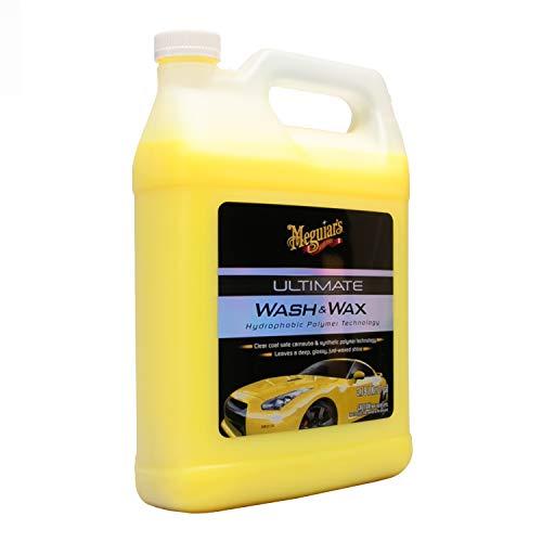 MEGUIAR'S G17701 Ultimate Wash & Wax, 1. gallons