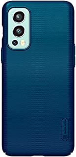 Nillkin Super Frosted Shield Matte Case For OnePlus Nord 2 5G - Peacock Blue
