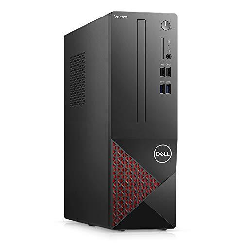 2020 Dell Vostro 3681 Business Desktop Computer_ Intel 8 Core i7-10700 up to 4.8GHz_ 64GB DDR4_ 2TB PCIe SSD + 1TB HDD_ DVDRW_ WiFi_ HDMI_ Black_ Windows 10 Professional_ BROAGE 64GB Flash Stylus