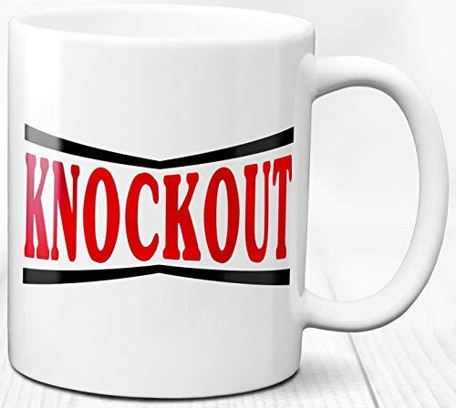 Knockout Kaffeebecher Boxen Liebe Boxer Geschenk Sport 330 ml Keramik Teetasse