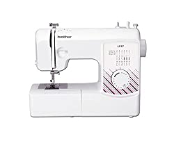 17 built-in stitches LED Light Free arm conversion Top Load drop in bobbin Instructional DVD included