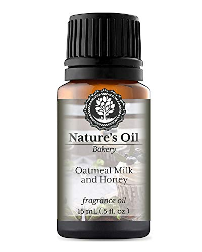 Oatmeal Milk and Honey Fragrance Oil (15ml) For Diffusers, Soap Making, Candles, Lotion, Home Scents, Linen Spray, Bath Bombs, Slime