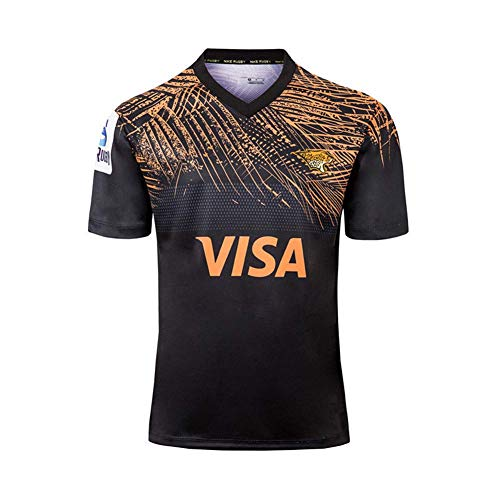 2019 Rugby Jersey Jaguar Home/Away World Cup Training Football Clothing Men's Casual Sports T-Shirt