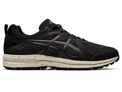 ASICS Torrance Trail Zapatillas de correr para hombre, Negro (Negro/Negro), 39.5 EU