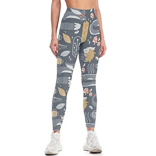 QTJY Pantalones de Yoga para Mujer, Cintura Alta, Sexy, Pantalones de Yoga para Levantar la Cadera, Ejercicio Push-up, Pantalones Deportivos Ajustados para Celulitis, B XL