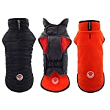 mypappydog Dog Jacket for Miniature Mini Xtra Small Small Dogs Reversible Dog Fleece Cozy Dog Sweater Windproof Small Dog Coat Easy on Easy Off Stylish Sporty and Functional Small Dog Vest | X Small