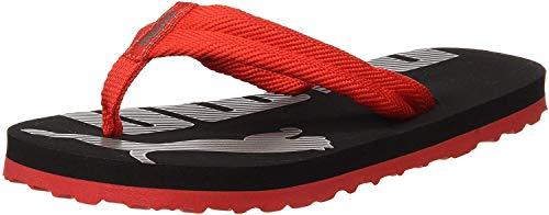 Puma Unisex-Kinder Epic Flip v2 PS Zehentrenner Rot (High Risk Red Black) , 33 EU