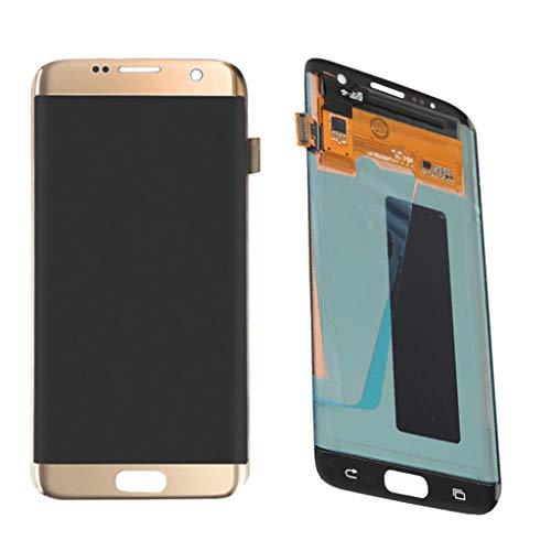 B Blesiya 1 und Digitalizador LCD Pantalla Tàctil Compatible con Samsung S7 Edge Smartphone - Amarillo