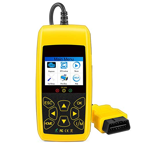 LOL lo CS520 EOBD CAN-Bus Reader Scan Tools Automotive Engine Code Reader Scanners Digitaal Diagnostisch Gereedschap