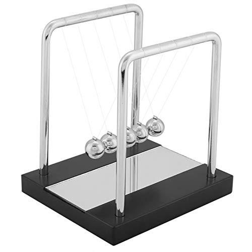 Balanza de juguete, Cuna de Newton Equilibrio Bolas de acero Física Ciencia Adornos de péndulo Escritorio de juguete Ornamento casero