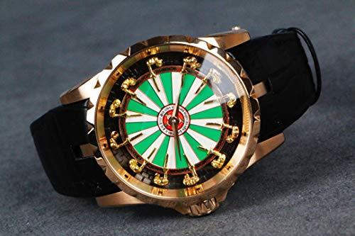 JFfactory Luxury Men Watch Acciaio Inossidabile Sapphire ETA Meccanico Automatico Argento Oro Rosa Orologi Bianchi AAA +