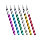 ULTECHNOVO 6Pcs Carving Tool Tragbare Carving Pen Holzbearbeitungsschneider für Kinder Anfänger...