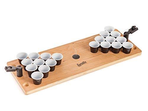 Mini Beer Pong, mesa cerveza Pong, miniatura Beer Pong, portátil