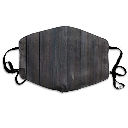 Hout Hek Textuur Afbeelding Ruw Rustiek Verweerde Oppervlak hout Eiken Planken afdrukken Mond Cover Gezicht Cover voor Volwassen Kinderen