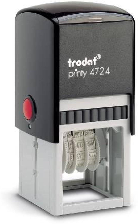 Trodat 4724 Printy-Datumstempel 40X40mm B00XUD7DT0    | Elegant und feierlich  4df395