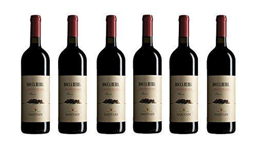 6 bottiglie di Rocca Rubia - Carignano del Sulcis DOC riserva rosso