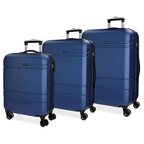 Juego de maletas Movom Galaxy 55-68-79cm Azul
