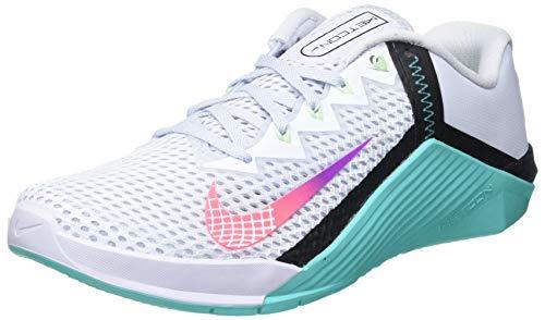 Nike Wmns Metcon 6, Zapatillas de Gimnasio Mujer, Negro, 36.5 EU
