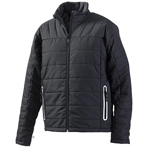 Berufsbekleidung24, Jacke, Korsar Crossover-Steppjacke, schwarz, Größe 5XL