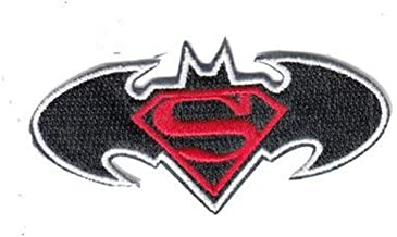 Marvel Justice League Batman vs Superman Superhero Military Patch Fabric Embroidered Badges Patch Tactical Stickers for Clothes with Hook & Loop