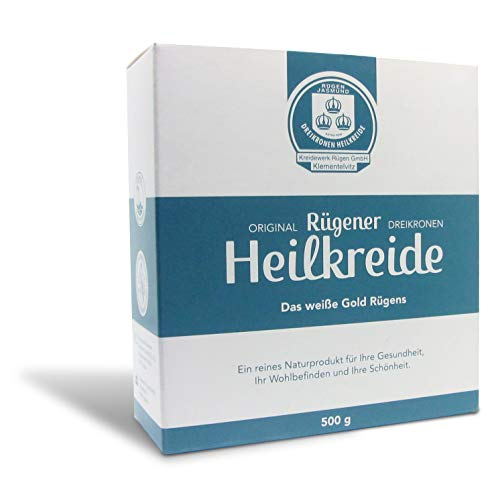 Original Rügener Heilkreide, 500g, ein reines Naturprodukt für Ihr Wohlbefinden und Ihre Schönheit