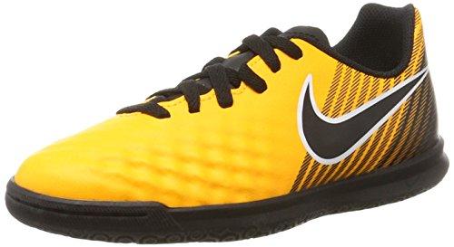 Nike Unisex Magista X Ola II IC JR 844423 801 Fußballschuhe, Orange (Laser Orange/Black-White-Volt), 38 EU