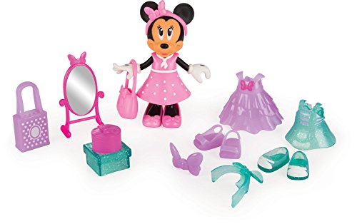 IMC Toys - 182196 - Minnie bambola 15 cm Minnie  Divertimento