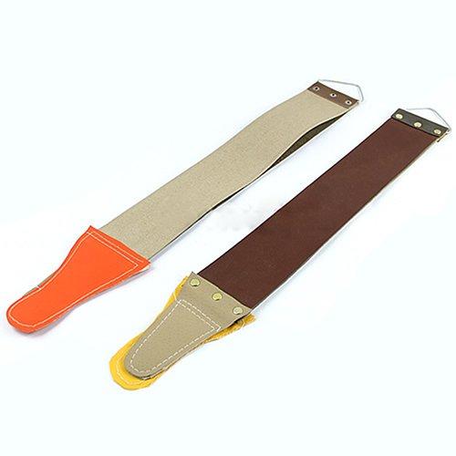 HshDUti Professionelle Barber Rasur Canvas Kunstleder hängen Strop Rasiermesser Schärfen Strap picture color