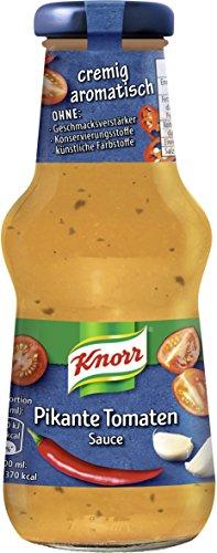 Knorr Grillsauce Pikante Tomaten Soße, 250 ml