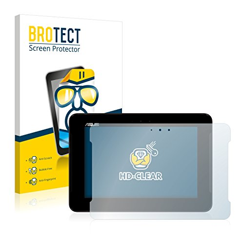BROTECT Schutzfolie kompatibel mit Asus PadFone S PF500KL Tablet (2 Stück) klare Bildschirmschutz-Folie