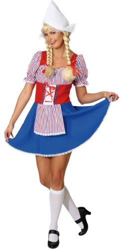 Holländerin Kostüm für Frauen - M