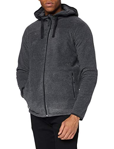 Stedman Apparel Active Power Fleece Jacket/ST5040 Sweat-Shirt à Capuche, Gris Anthracite, L Homme