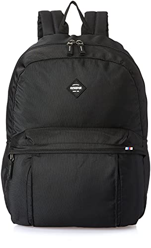 American Tourister Rudy 42 cms Black Casual Backpack (GT1 (0) 09 001)