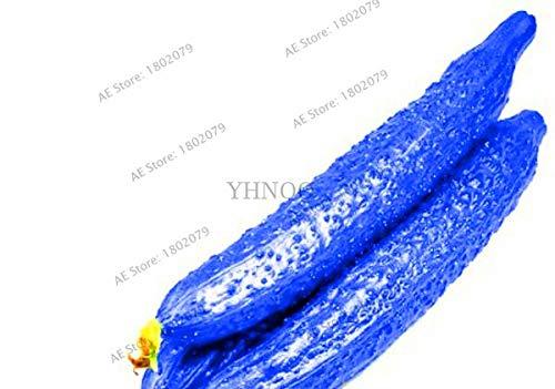 Pinkdose Vente 100 Pcs très savoureux plantes de concombre bleu de délicieux légumes bio Bonsai plantes pour Jarddim, F1ZOVD: Bleu
