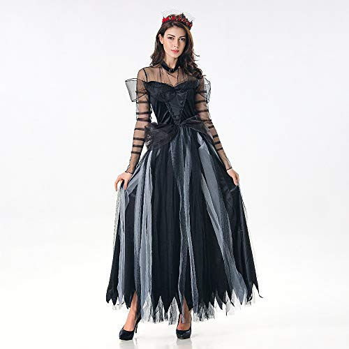 Xwenx Halloween Cosplay Vampire Vestido Cosplay Costume Traje para Mujer Traje de Cosplay Traje Anime Traje de Halloween Traje de Fiesta